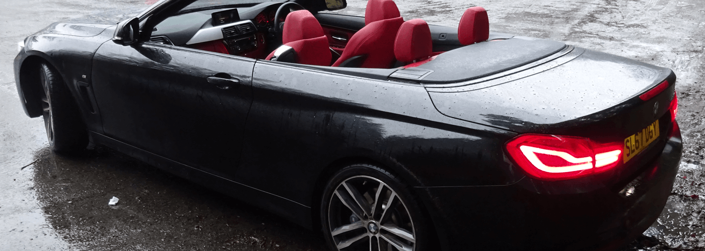 Convertible car hire with Glasgow Car Rental